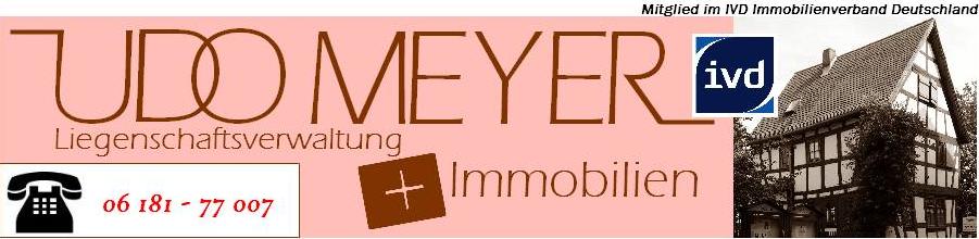 Willkommen bei UDO MEYER Immobilien + Liegenschaftsverwaltung in Bruchköbel